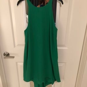 Medium Kelly green sleeveless dress